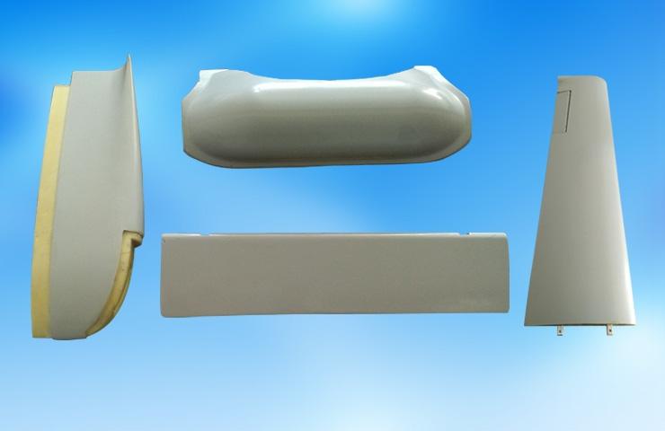 高强度复合材料无人机配件