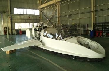 地效气垫复合翼船